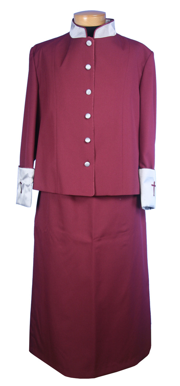 9d3a2036458 Home · Women s Clergy Robes  CLOSEOUT Ladies 2-Piece Rebecca Church Suit.  Image 1. Click to enlarge