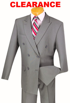 001. (3) Double Breasted Suits For $249.99 SALE -  8 Colors Available