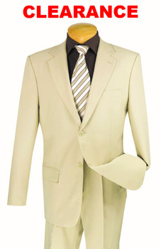 (3) Two-Button Suits For $249.99 SALE -  17 Colors Available
