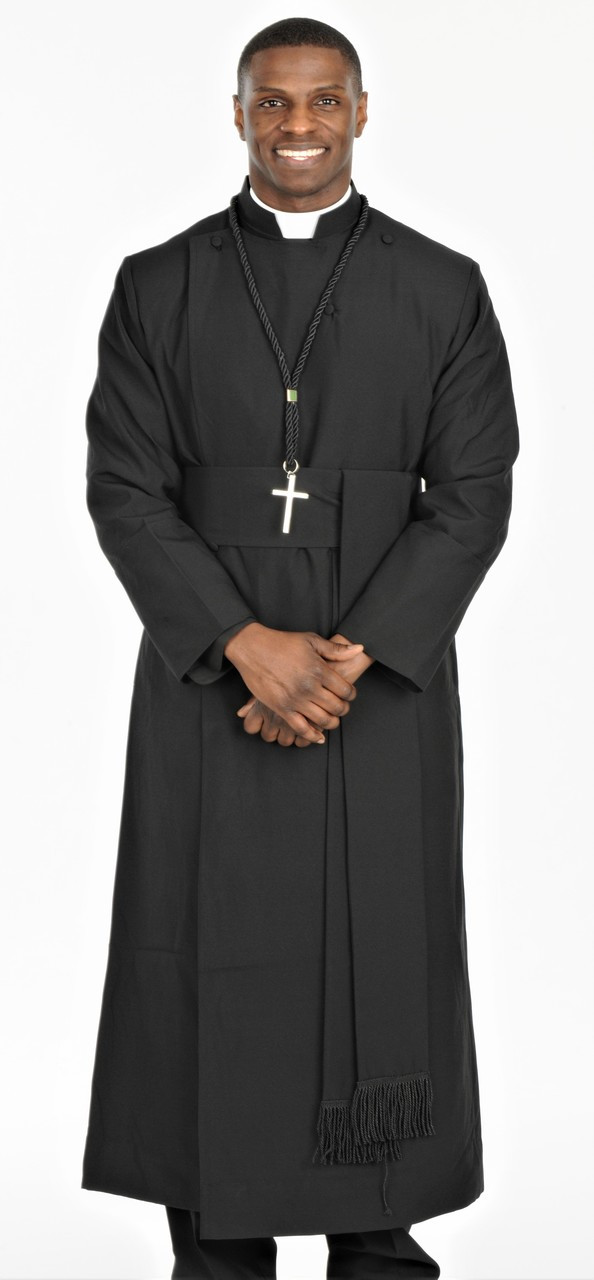 0001. Anglican Clergy Robe With Matching Cincture Belt - QUICK SHIP ... aac0f8402