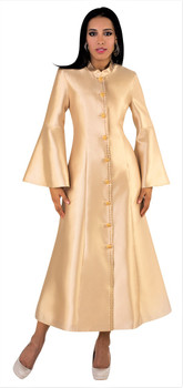 02A. Ladies 1-Piece Preaching Robe Dress - Available In 8 Colors!