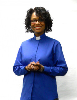 Tab Collar Ladies Clergy Shirt in ROYAL