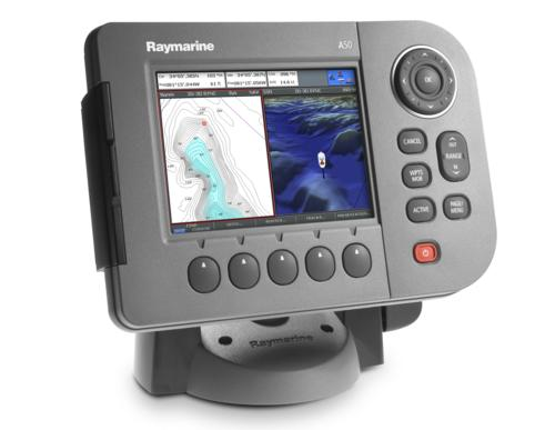 Raymarine A50 Chartplotter 5