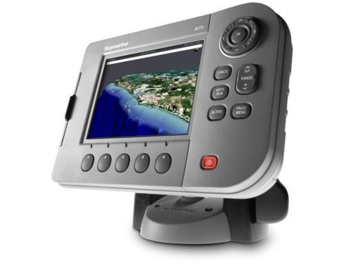 Raymarine A57D Chartplotter/Fishfinder 5 7'' Display European Charts