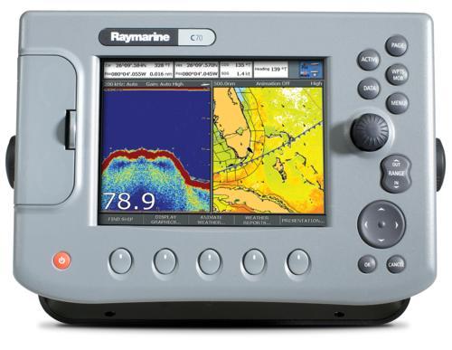 Raymarine C120 Chartplotter 12 1