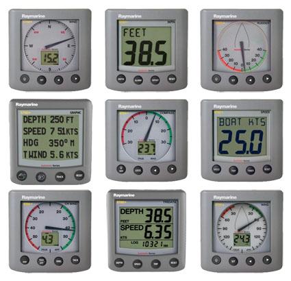 Raymarine Instruments St60 Plus Series