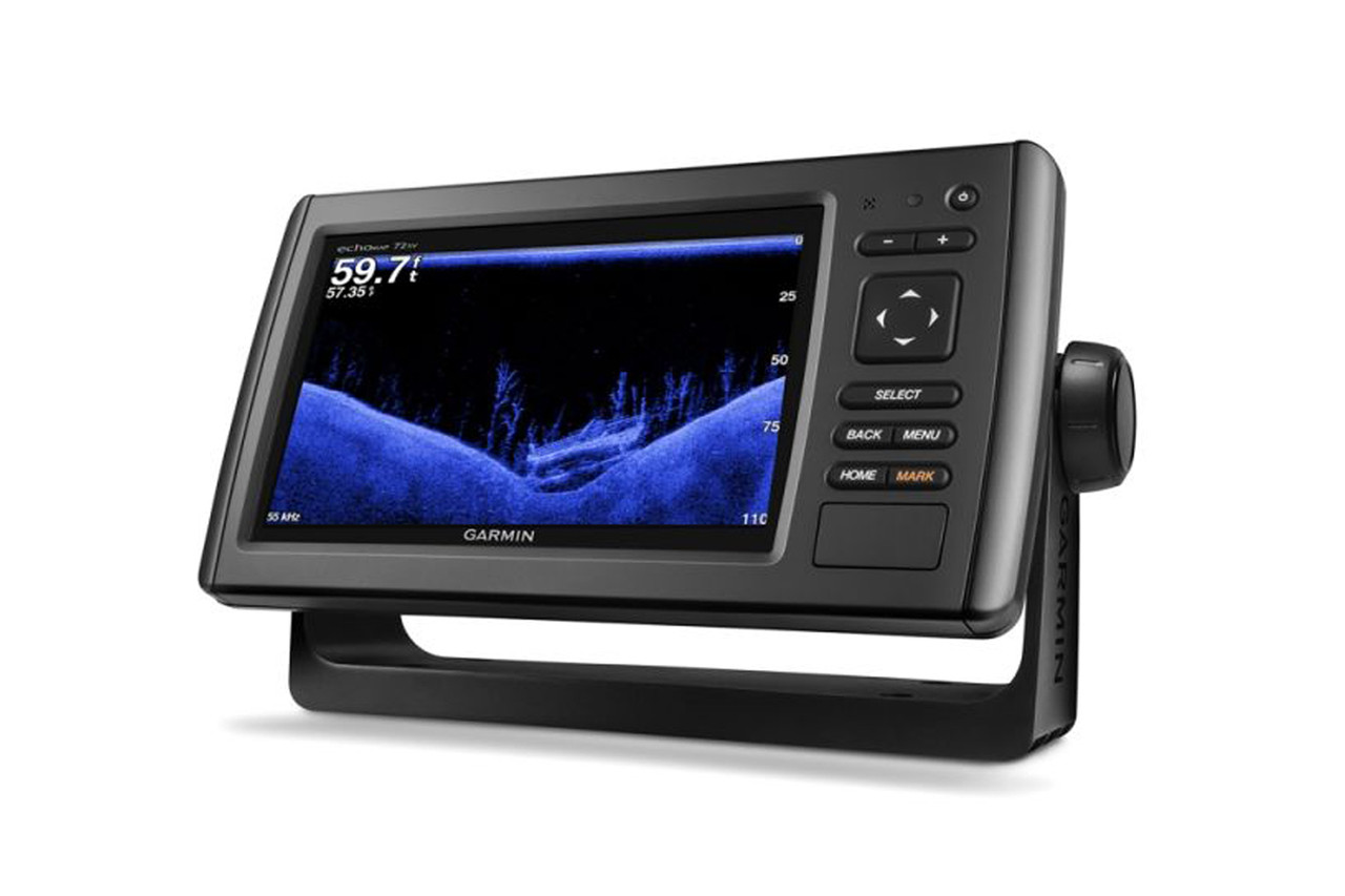 Marine Electronics Garmin echoMAP CHIRP 72sv left side