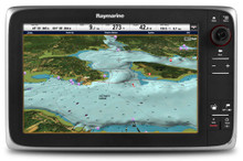 "Raymarine c125 12.5"" Multifunction Display Canada Charts"