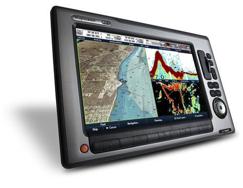 Raymarine E120W Chartplotter U S  Coastal Charts E62223-US