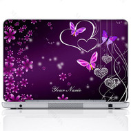 Customized Name Laptop Skin Sticker 2503