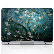 Customized Name Laptop Skin Sticker 3005