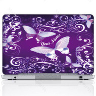 Customized Name Laptop Skin Sticker  767