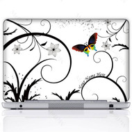 Customized Name Laptop Skin Sticker  715