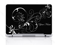 Customized Name Laptop Skin Sticker 1402