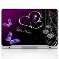 Customized Name Laptop Skin Sticker 1810