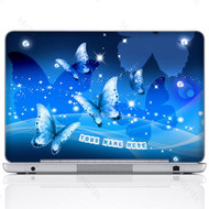 Customized Name Laptop Skin Sticker 2620