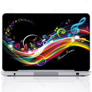 Customized Name Laptop Skin Sticker 2704