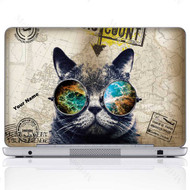 Customized Name Laptop Skin Sticker 3101