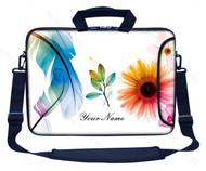 Customized Name Laptop Bag (Side Pocket)  311