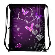 Drawstring Bag with Side Pocket 2503