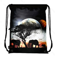 Drawstring Bag with Side Pocket 409