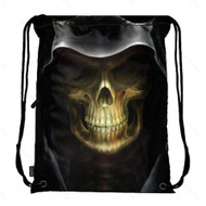 Drawstring Bag with Side Pocket 909