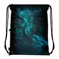 Drawstring Bag with Side Pocket 2735