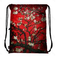Drawstring Bag with Side Pocket 3003