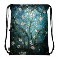Drawstring Bag with Side Pocket 3005