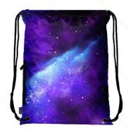Drawstring Bag with Side Pocket 3129