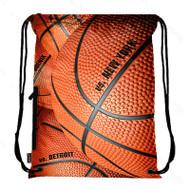 Drawstring Bag with Side Pocket 3132