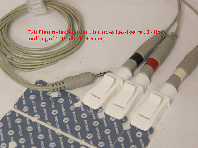 tab electrodes solution for MD100B handheld ecg monitor with 100 electrodes , free shipping in USA