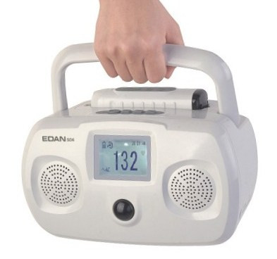 Edan SD6 table top fetal doppler with wireless sensor , choice of 2mhz or 3 mhz probe , free shipping in USA