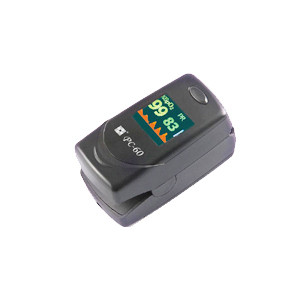 Creative PC-60C1 fingertip oximeter , color , ADJUSTABLE audible alarm, 4 direction display ,free shipping in USA