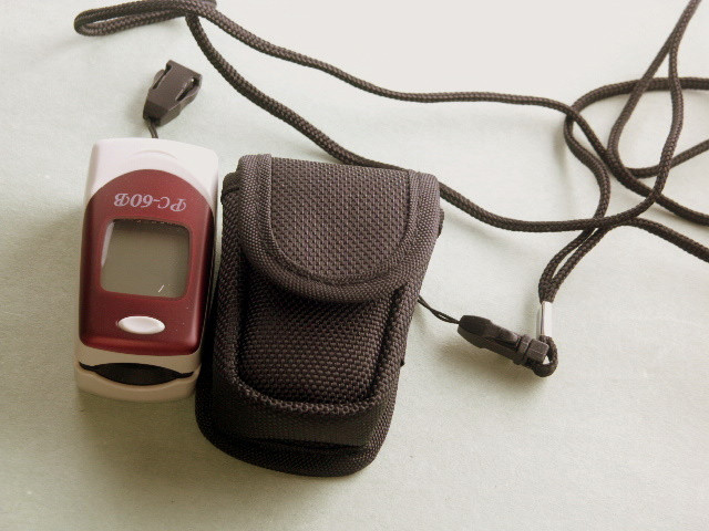 soft carrying case for fingertips oximeter , free shipping
