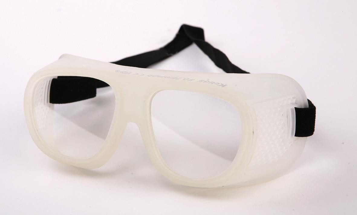 X-Ray Radiation Protection Glasses Goggle 0.75 mmPb front / 0.35mmpb side , wipe , case included. style H