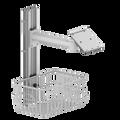 WALL MOUNT FOR MEDICAL MONITOR , OPTION FOR VARIETY MAKE , MODEL , OPTION FOR RAIL LENGTH , SWIVEL ARM