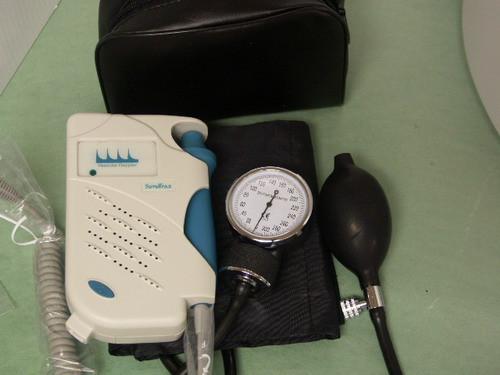 Edan Sonotrax Vascular Doppler 8mhz ABI kit (including sphygmomanometer )+ battery