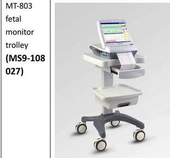 Mobile Trolley Cart for Edan Fetal Monitor F6/F9 , Cadence
