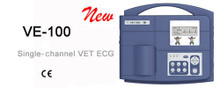 Single channel veterinary ECG VE-100 is a well-designed, reliable, portable and affordable ECG unit.