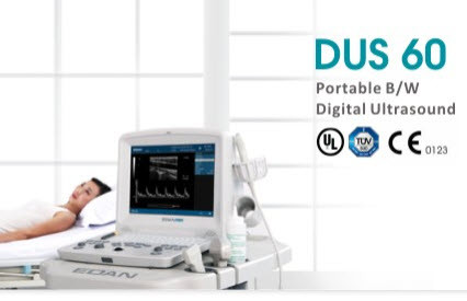 Edan D60 Ultrasound Imaging System With 1 Probe