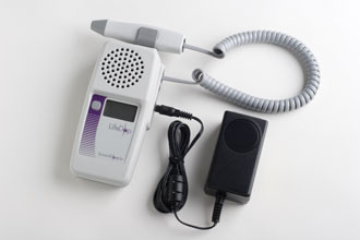 Summit lifedop L250R display handheld fetal/vascular doppler with recharger , free shipping in USA , 2,3,4,5, 8 mhz probe at your choice