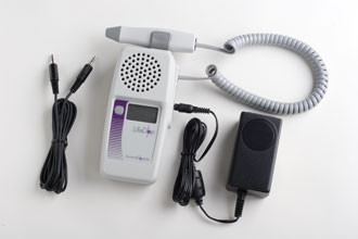 Summit lifedop L250AR display handheld fetal/vascular doppler with audio recording / recharger , free shipping in USA , 2,3,4,5, 8 mhz probe at your choice
