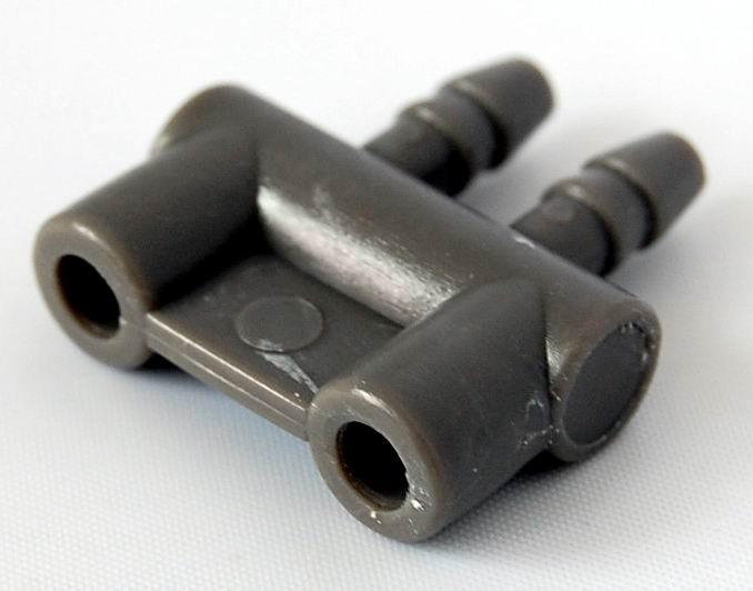 hose connector , Alternative double tube air hose cuff end connector (BP-26)