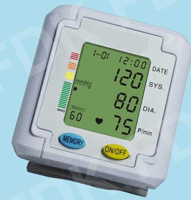 EastShore B11WV Wrist Blood Pressure Monitor w/talking voice/ 3 color alert.