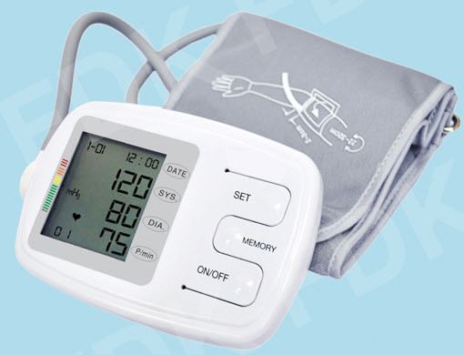 EastShore C12BV Digital arm blood pressure monitor with talking voice English/Spanisheatures , LARGE CUFF