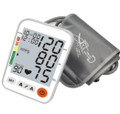 C11BV Digital arm blood pressure monitor with talking voice English/Spanish, 3 Color backlight Alert