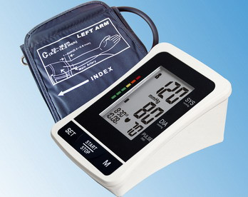 EastShore bp1305 TALKING Digital arm blood pressure monitor Large LCD+features (120 Memory , WHO indicator)