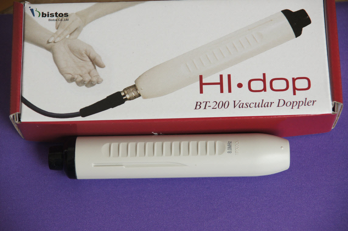 Doppler sensor probe for Bistos BT-200V vascular doppler , 4mhz , 5mhz , 8mhz at your option