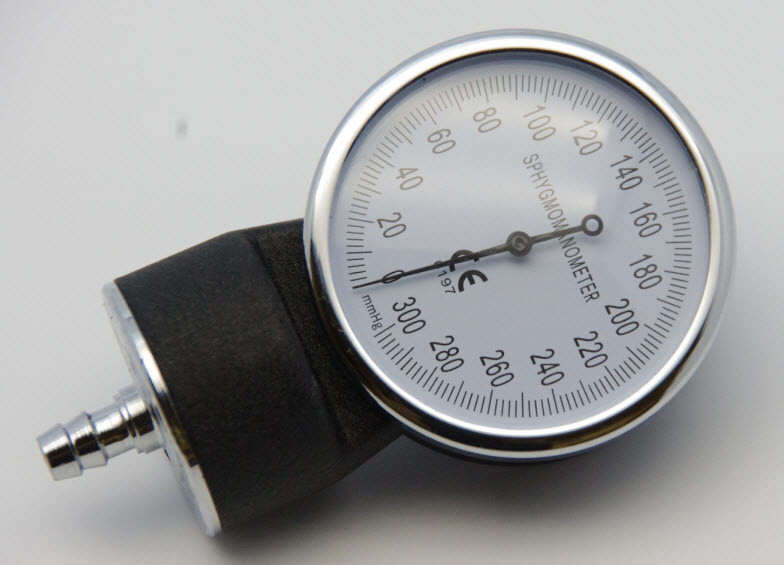 Gauge for Manual Blood Pressure Monitor Cuff ( Sphygamomanometer)